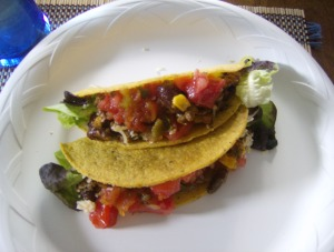 Beefed up tacos